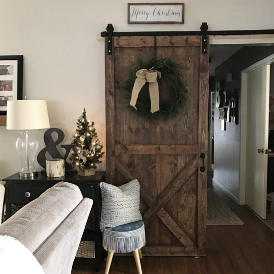 Holiday - Barn Door - Schlage