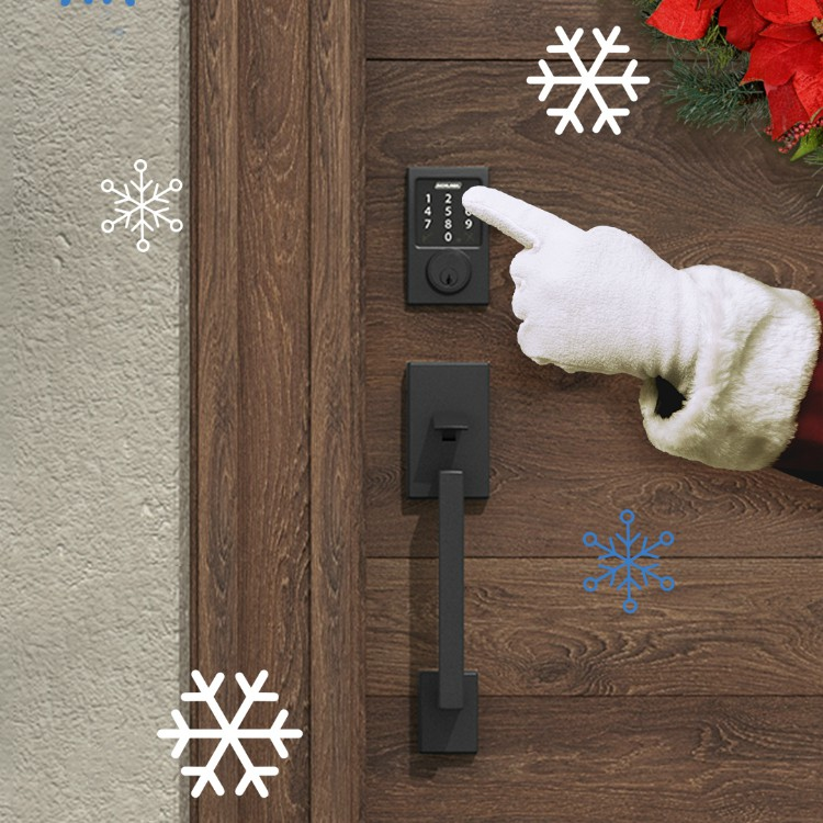 Smart locks - Holiday Convenience - Schlage