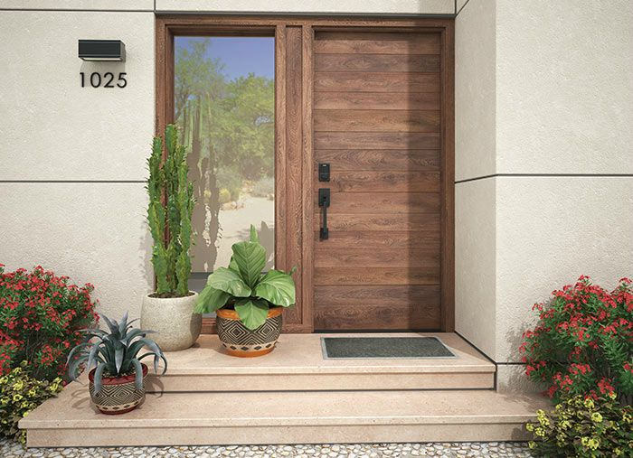 Smart Locks on front door - Schlage