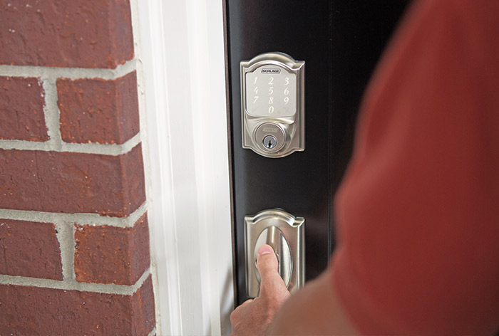 Smart locks for garage doors - Schlage