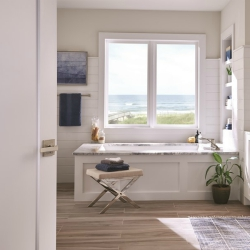 Declutter and design: How Schlage adds style to rejuvenated rooms.