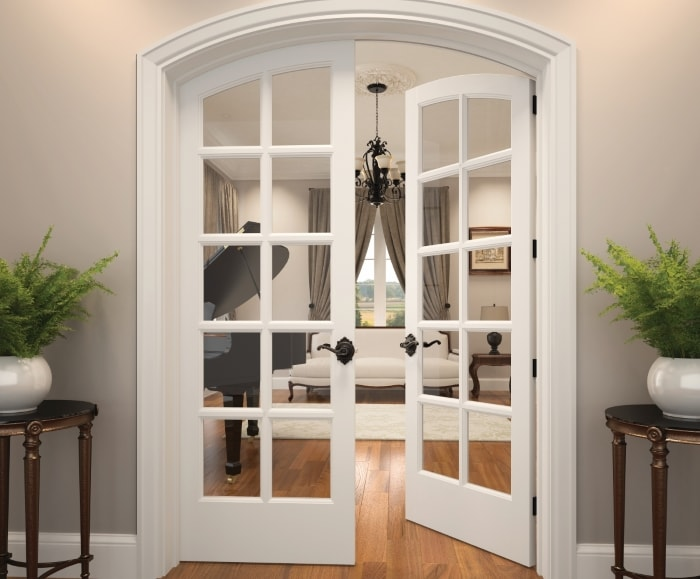 "Simple French door makeovers that say ""Ooh la la!"""