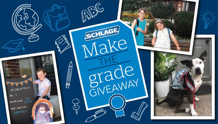 Schlage Make the Grade Giveaway