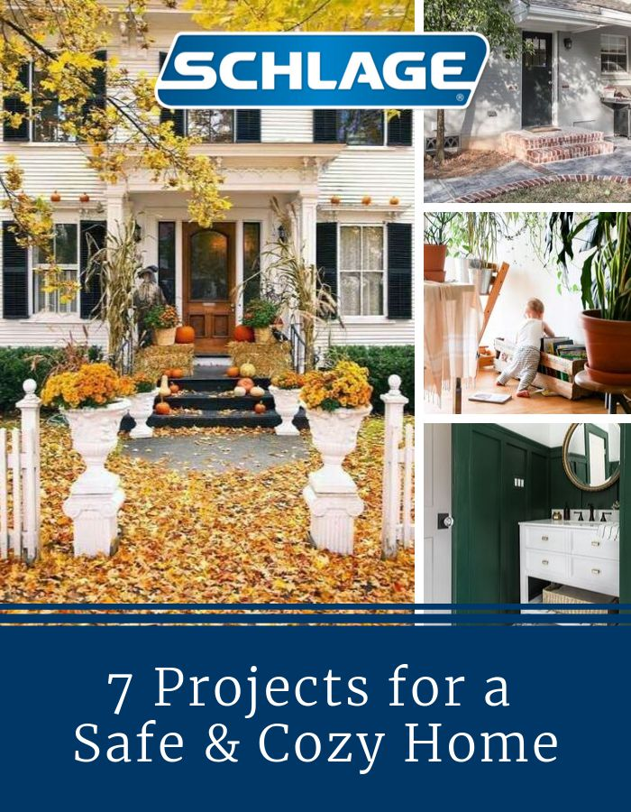 7 projects for safe and cozy fall home.