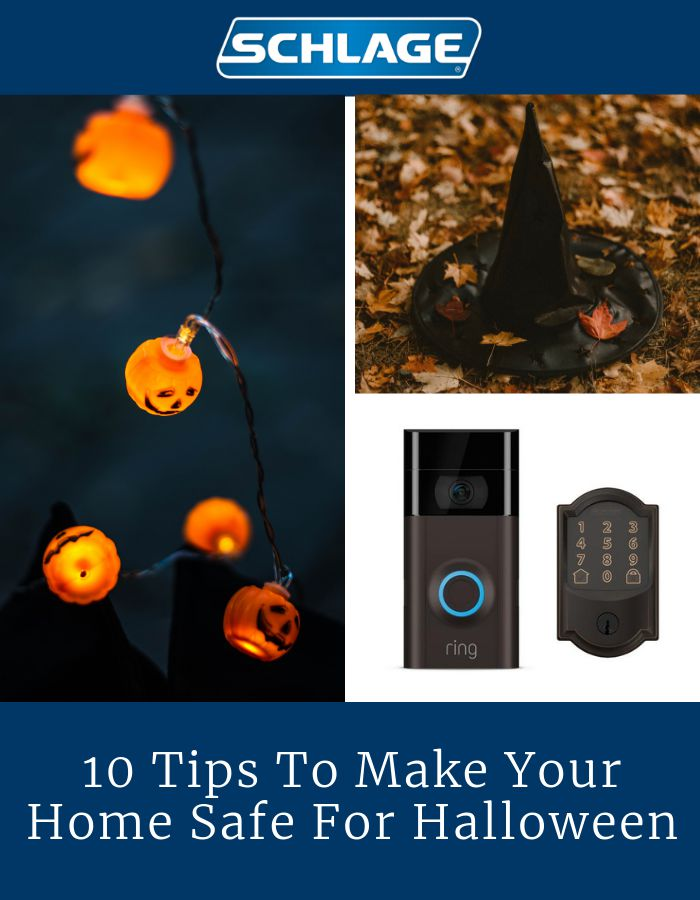 Halloween home safety tips.