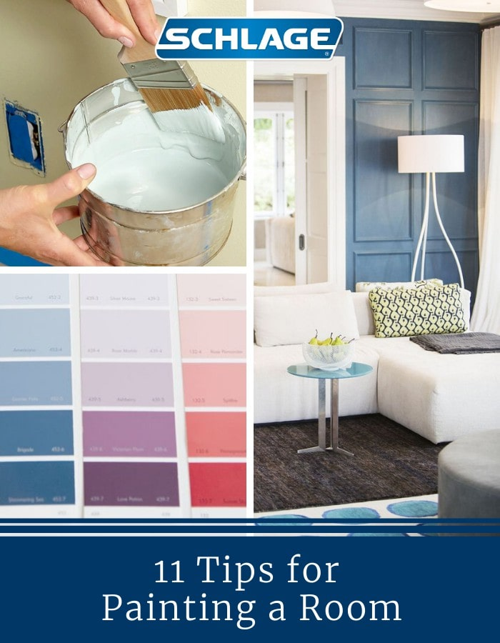 11 tips for painting a room