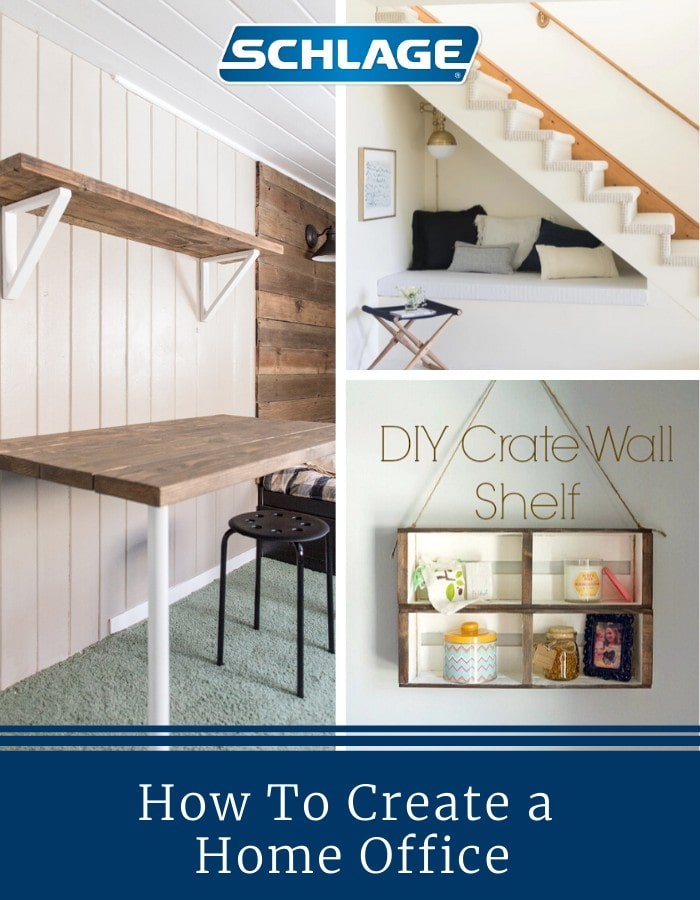 How to create a home office.