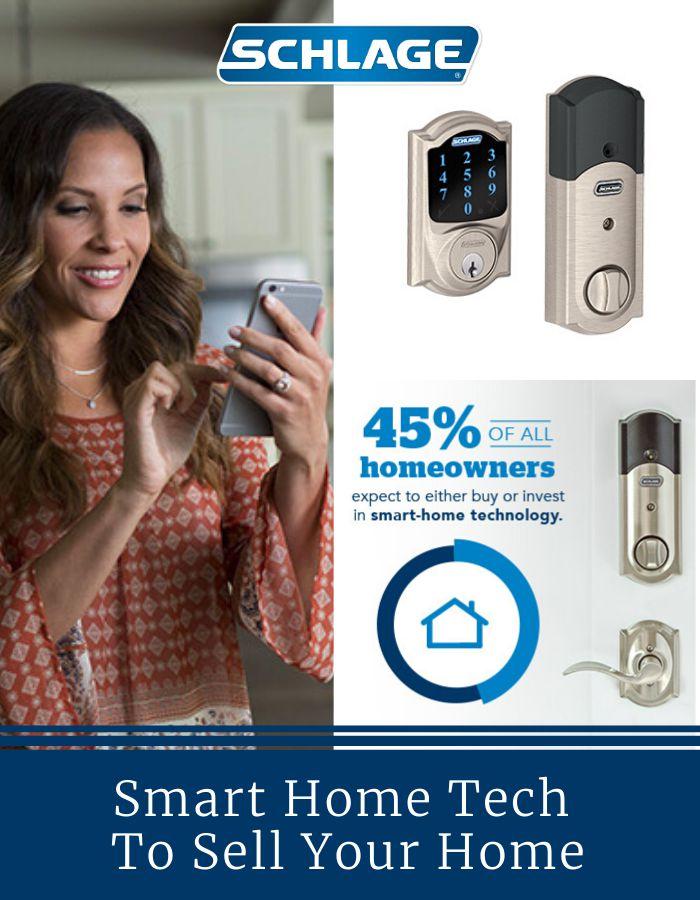 Using smart home tech to sell your home.