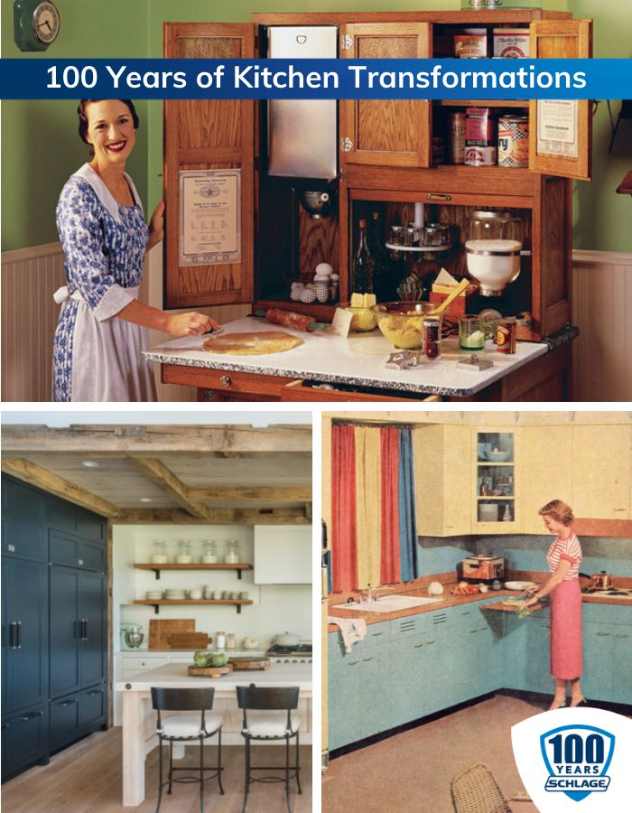 100 years of kitchen transformation