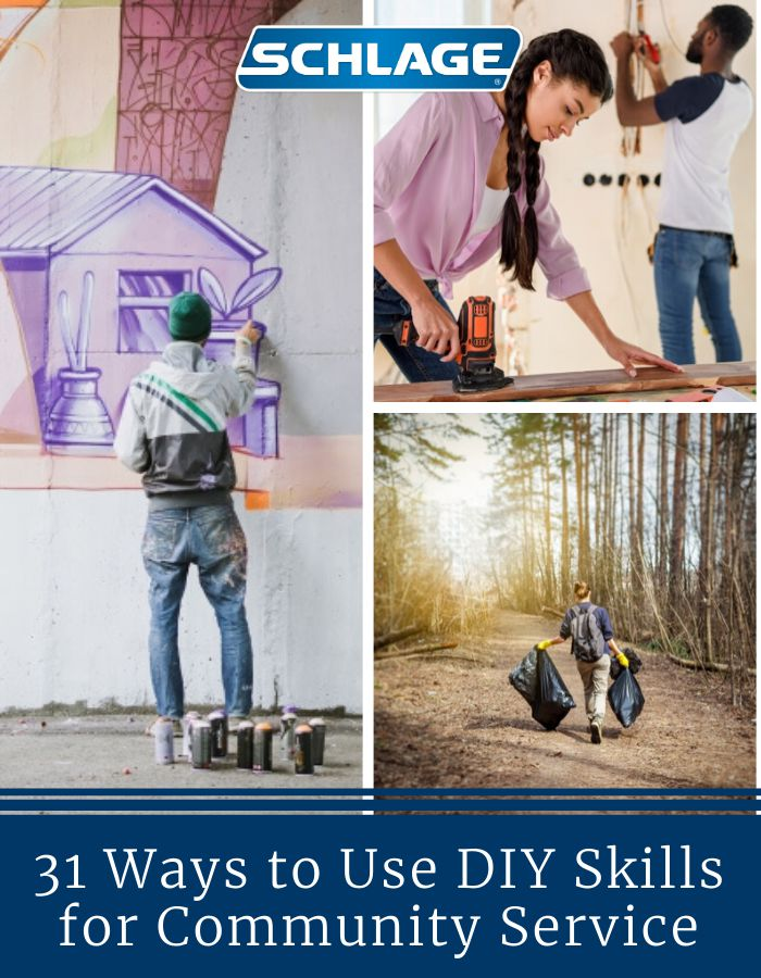 DIY skills for community service