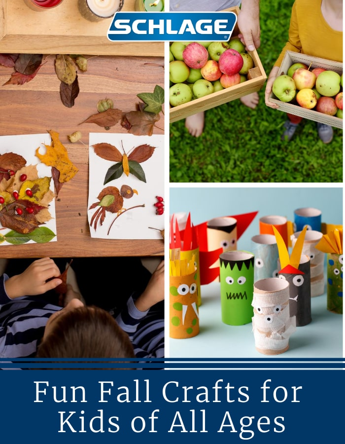 DIY fall crafts for kids.