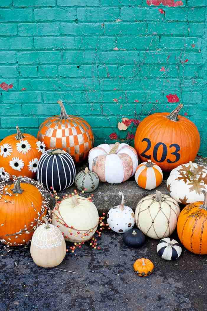 No-carve pumpkin ideas.
