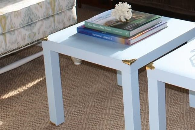 DIY campaign style coffee tables
