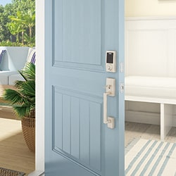5 simple steps for better security with the Schlage Connect™ Smart Deadbolt.