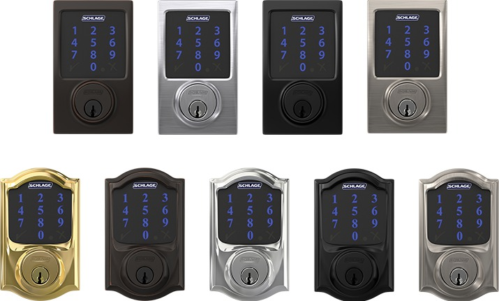 Schlage Connect Smart Deadbolt Z Wave Enabled