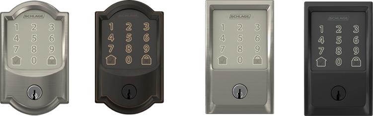 Schlage Encode Smart WiFi Deadbolt - WiFi lock - Styles
