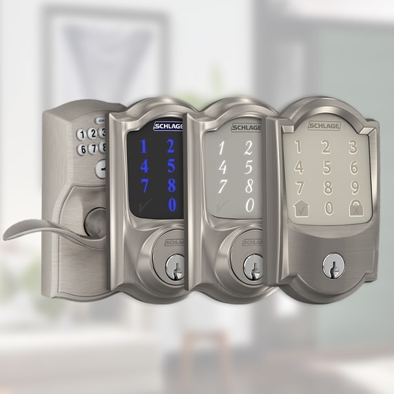Schlage smart locks.