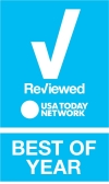 Reviewed Best of Year logo