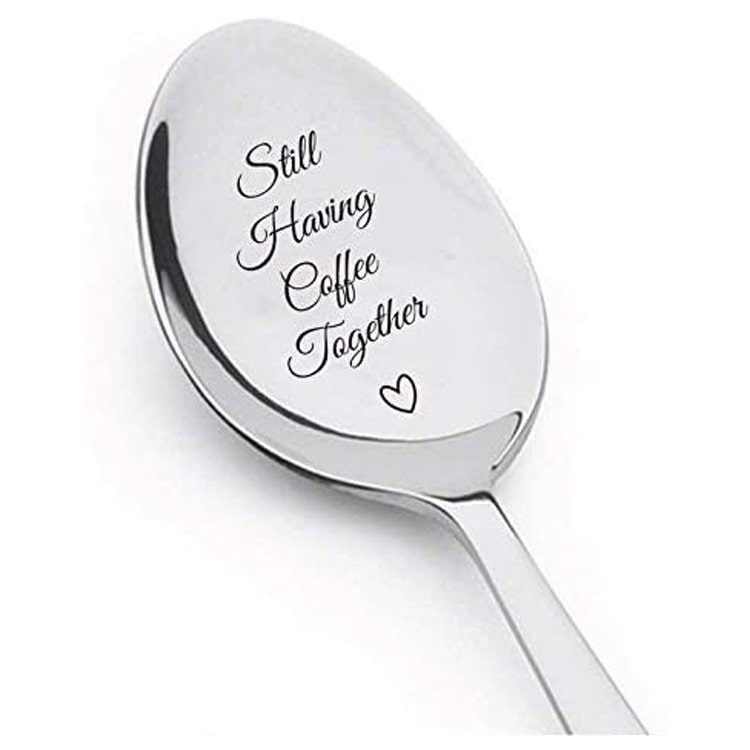 Engraved spoon.