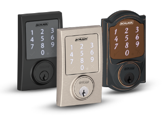 Smart Locks  sc 1 st  Schlage & Security Door and Keyless Entry Locks | Schlage