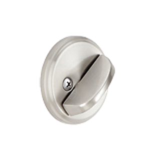 One sided deadbolt
