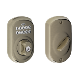 Plymouth Trim Keypad Deadbolt