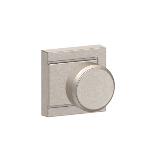 Bowery Knob With Upland Trim Keyed Entry Lock