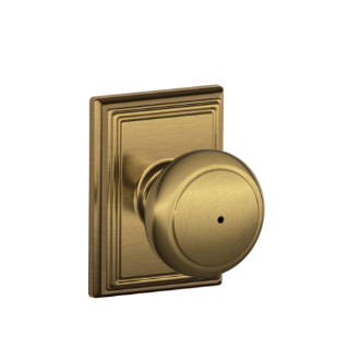 Schlage Bed And Bath Door Knob Instructions