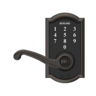 Remarkable Schlage Touch Keyless Touchscreen Lever With Camelot Trim Door Handles Collection Dhjemzonderlifede