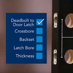 How to Prepare Your Front Door to Install a Deadbolt Lock