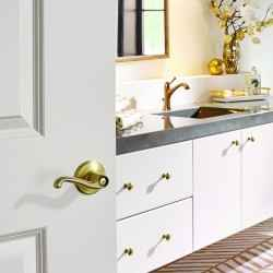 How brass hardware can boost your bathroom style | Schlage