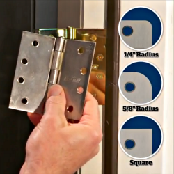 How to choose replacement hinges | Schlage