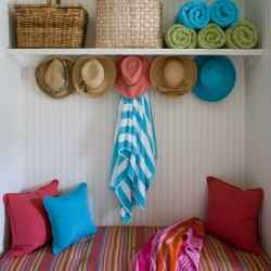 How to bring summer fun to your entryway