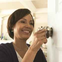 5 steps to a style update: Schlage interior door hardware installation