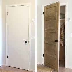 5 ways to turn a hollow core door into more
