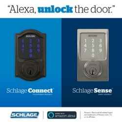 Amazon Alexa - Unlock feature - Schlage Smart Locks