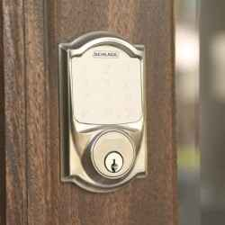 Schlage Sense Smart Deadbolt works with Yonomi Smart Home Routines