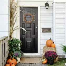 Fall - Front Porch - Schlage Sense Smart Deadbolt