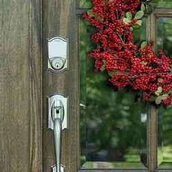 Ted Talks - Winter Front Porch Decor - Schlage