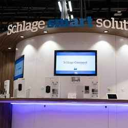 Schlage smart home booth at IBS 2019