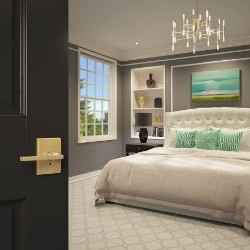 Art Deco bedroom design | Schlage