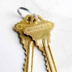 Schlage house key