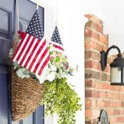 4th of July front door decor | Schlage