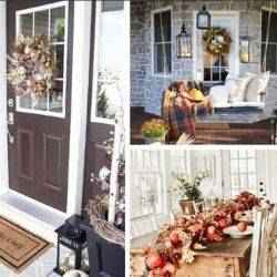 Fall decor inside and out | Schlage