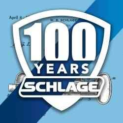 Schlage 100th Anniversary