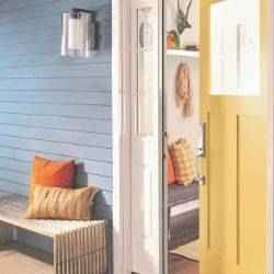 Yellow front door | Schlage