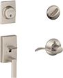schlage the geo satin home knob door privacy knobs p bath depot nickel bed georgian