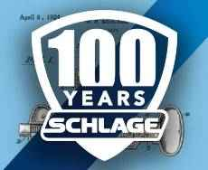 100 years of Schlage.