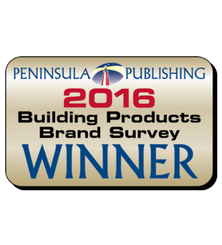 2016 Building Products Brand Survey Winner