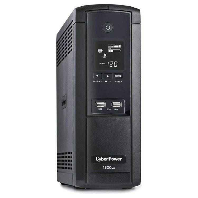 Intelligent LCD Battery Backup Uninterruptible Power Supply (UPS) System